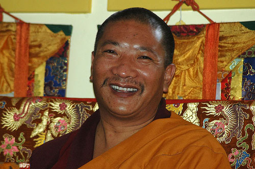 Venerable Drupon Thinley Ningpo Rinpoche