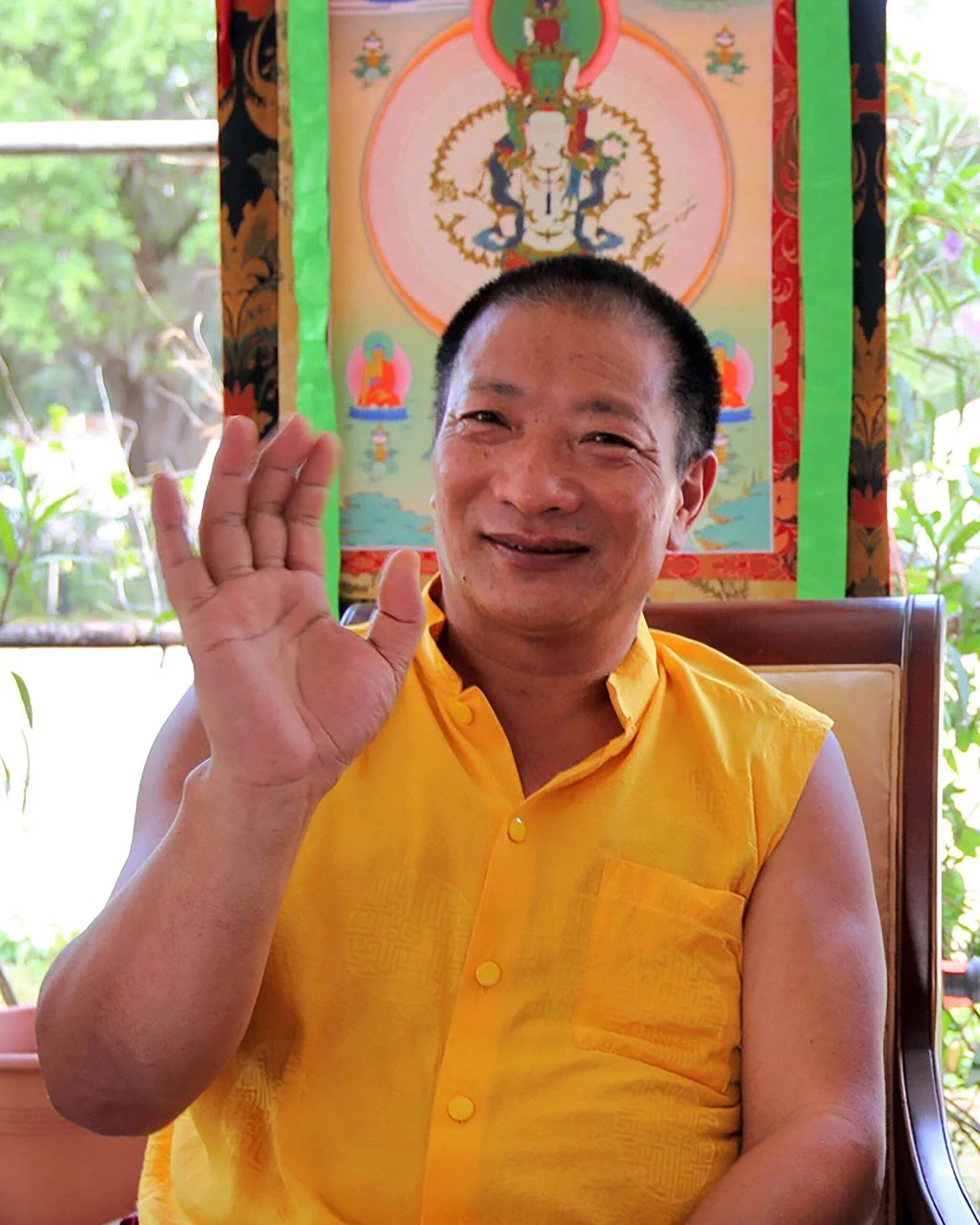 Venerable Drupon Thinley Ningpo Rinpoche